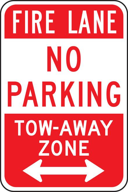 Fire Lane No Parking Tow-away Zone