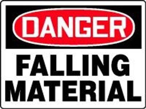 Danger Falling Material 1