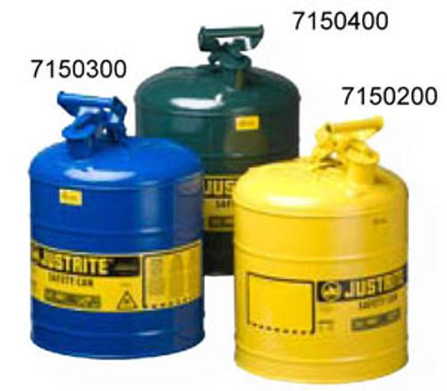 Type I Safety Can Blue Kerosene Storage 5 Gallon