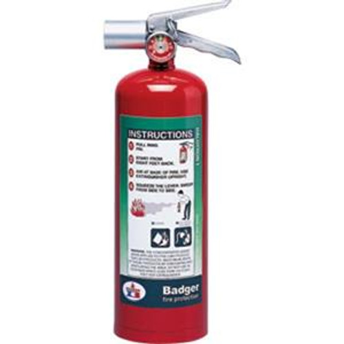 Haltron I Store Pressure Fire Extinguisher- Badger- 5 lbs with wall hook