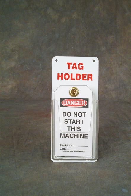 Tag Holder- Safety Tag Holder