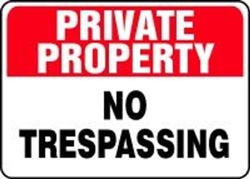 Private Property - No Trespassing