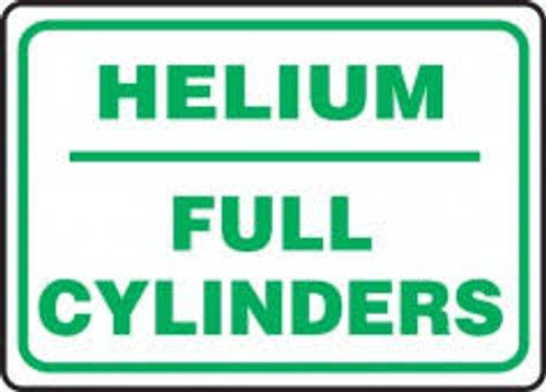Helium Full Cylinders - Re-Plastic - 10'' X 14''