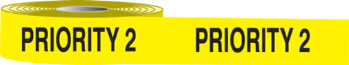 Incident Management Barricade Tape- Priority 2