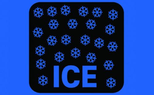 Message Floor Mat - Ice