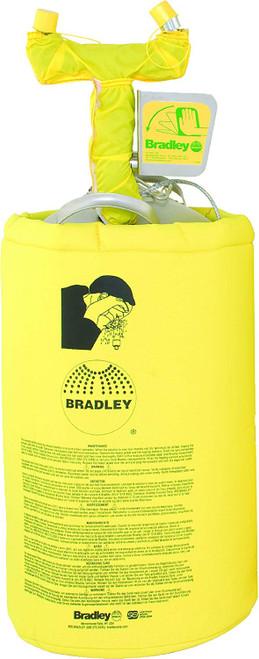 Bradley S19-690H Heated Portable Pressurized Eyewash 10 gallon