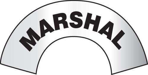 Marshal Helmet Sticker