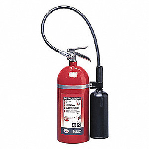 Carbon Dioxide Fire Extinguisher- Badger- 10 lb- with wall hook