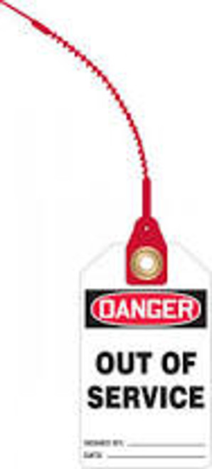 Danger Out of Service Loop Safety Tag