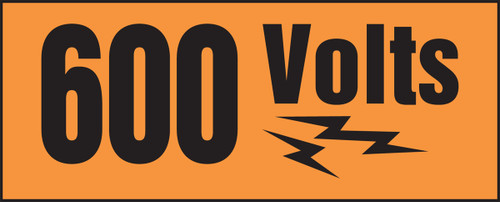 600 Volts (w/graphic)