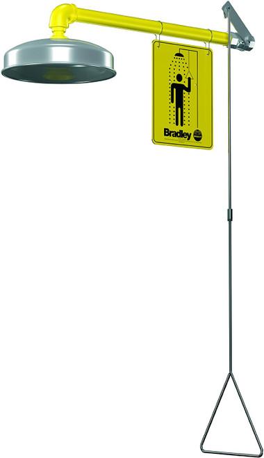 Bradley S19-120ABF Barrier Free Horizontal Supply Emergency Shower