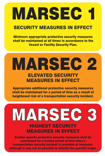 MASE545VA MARSEC Flip Sign