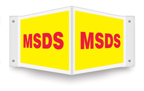 Msds Sign- Projection Sign