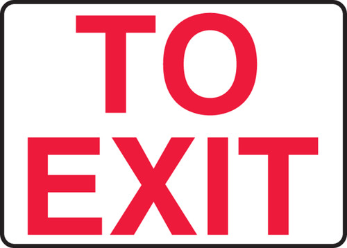 To Exit