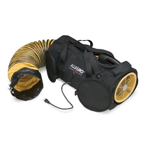 "Allegro 9535-08 8"" AC Air Bag Blower w/ 15' Ducting"