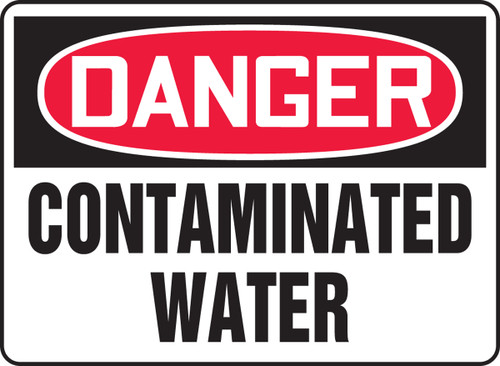 Danger - Contaminated Water