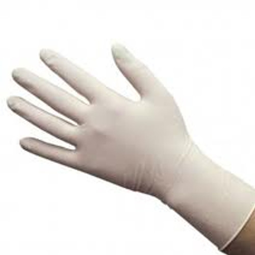 Latex gloves - Lightly Powdered- Large 100/box