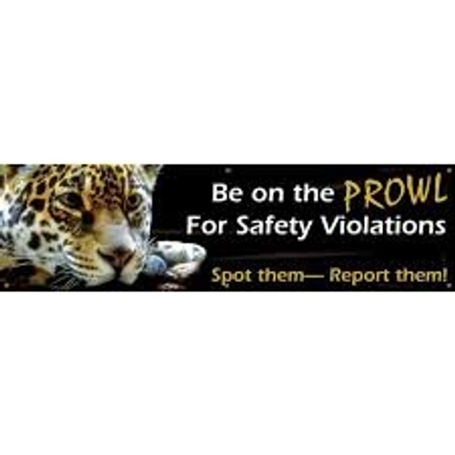Be On The Prowl For Safety Violations Spot Them - Report Them!
