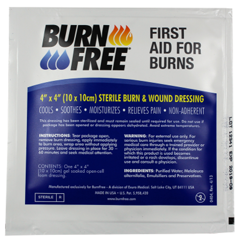 "BurnFree Burn Dressing 4""x4"""