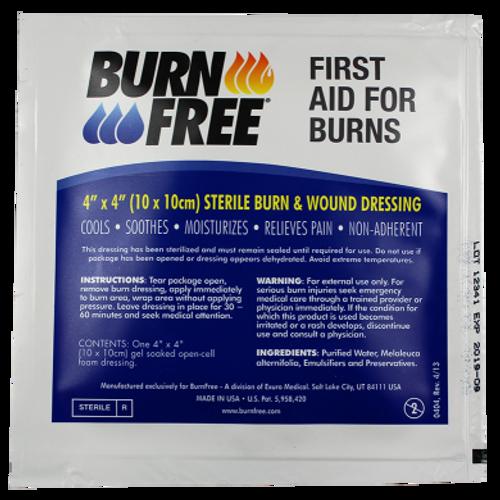 BurnFree Burn Dressing 4x4
