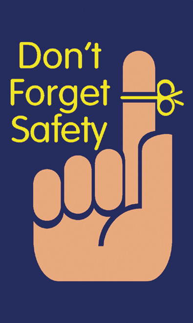 Message Floor Mats- Don't Forget Safety