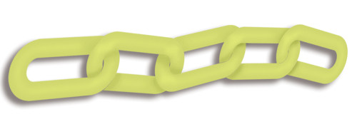 Glow-in-the-dark Chain Links