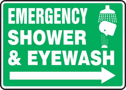 Emergency Shower & Eye Wash Sign