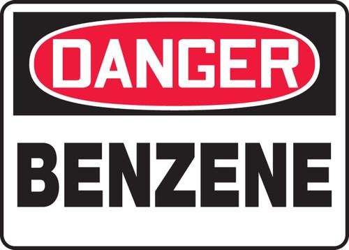 Danger - Benzene