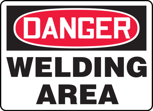 Danger Welding Area
