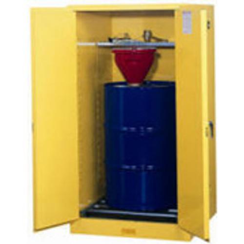 Justrite Vertical Drum Storage Cabinet- 1-55 Gallon