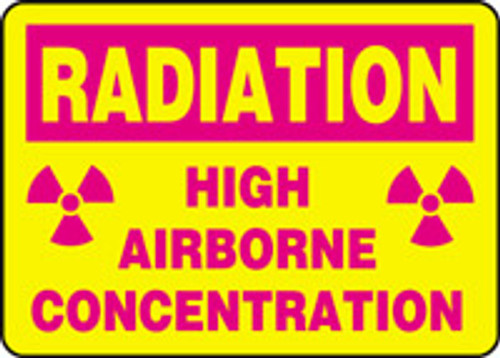 High Airborne Concentration (w/graphic)
