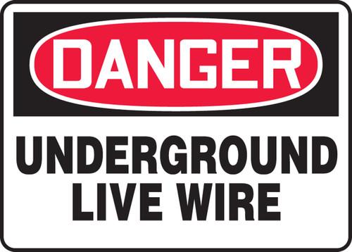 Danger - Underground Live Wire