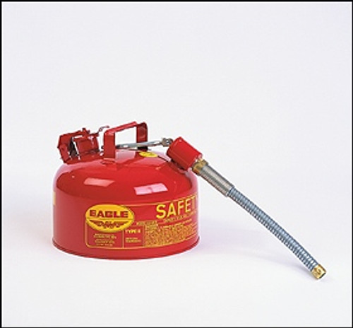 Eagle Type II Safety Can 2 Gallon w/ O.D. Flex Spout
