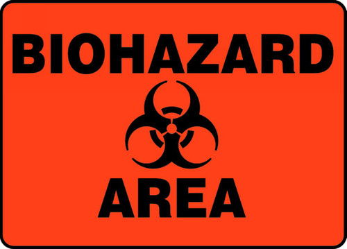 Biohazard Area Sign
