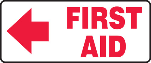 First Aid Sign with Right Arrow MFSD589