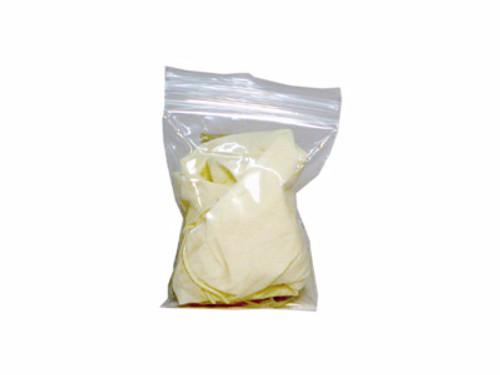 Latex Gloves in Zip Bag -1 pair