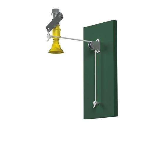 Bradley S19-130F Drench Shower with Vertical Supply Cord Operated