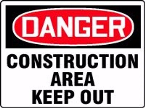 Danger - Construction Area Keep Out 2