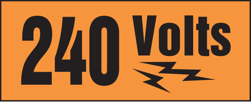 240 Volts (w/graphic)