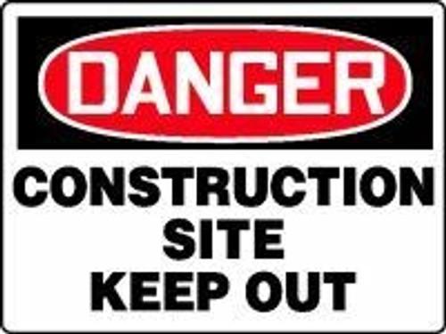 Danger - Construction Site Keep Out 1