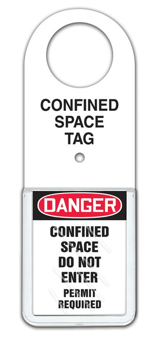 Confined Space Status Tag