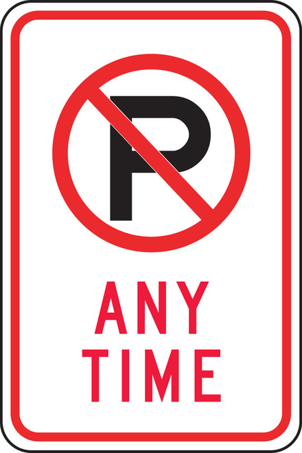 (no Parking Symbol) Any Time