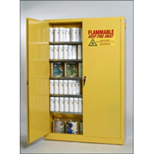 EAGLE 30 Gallon Aerosol Paint Can Storage Cabinet- Manual Door