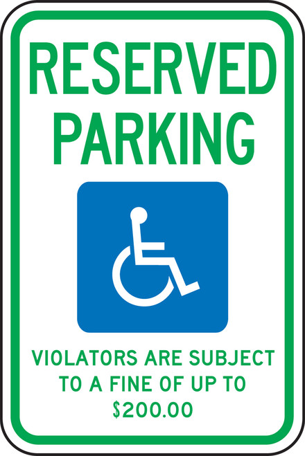Minnesota Handicap Reserved Parking Violators Are Subject To A Fine