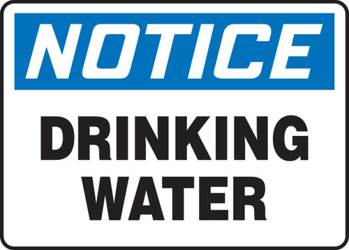 Notice - Drinking Water