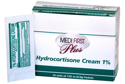 hydrocortisone cream first aid