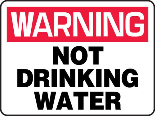Warning - Not Drinking Water
