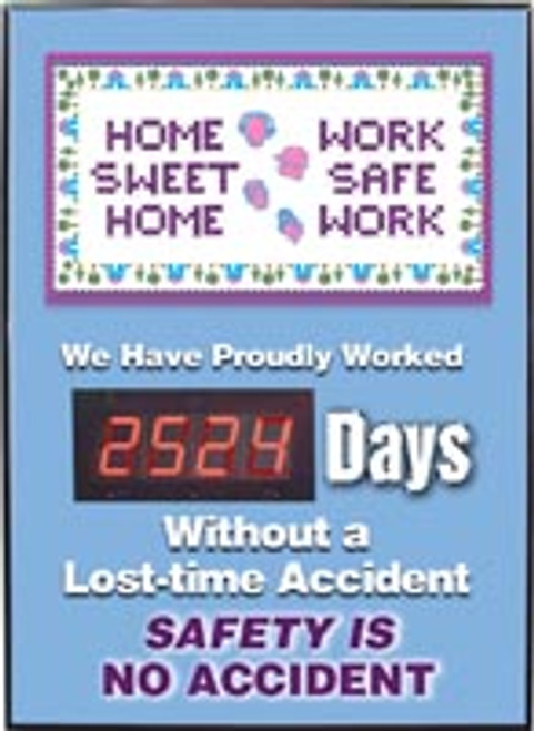 Safety Scoreboard- Home Sweet Home
