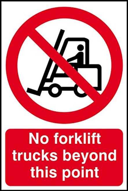 No Industrial Trucks - Adhesive Vinyl - 6''