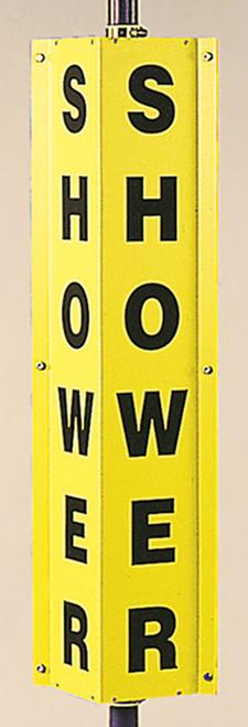 Emergency Eyewash/ Shower Sign- 360D 4 Panel Sign